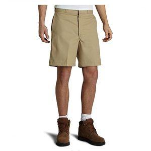 """Dickies Flat Front 10"""" Wrinkle Resist. Work Shorts"""